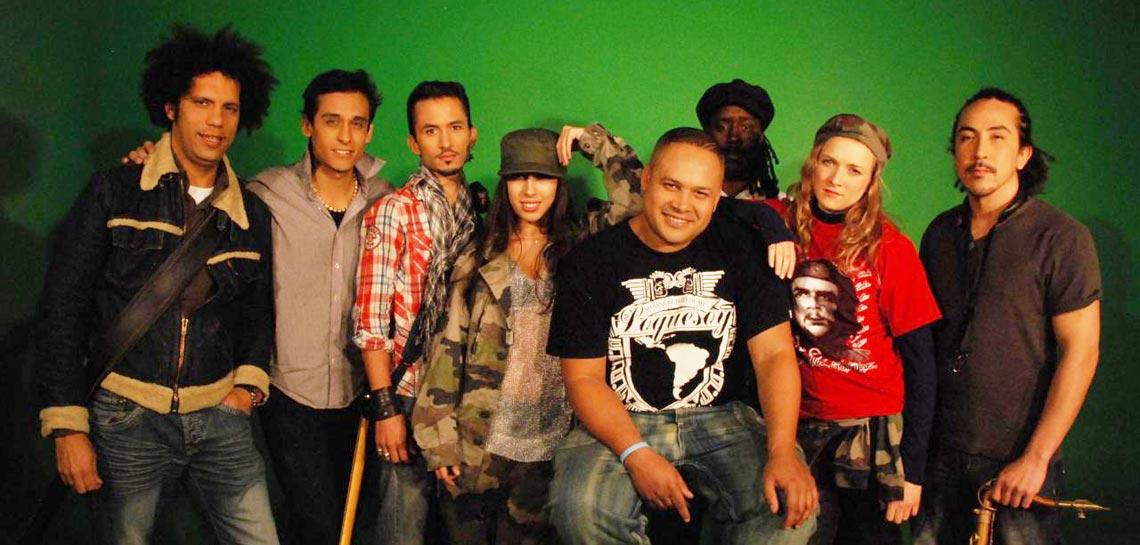 Vanny Jordan y su banda